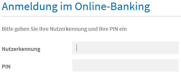 AAB Login - Eingabeformular zum Login der Augsburger Aktienbank