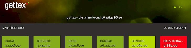 gettex ist ein relativ neuer, regionaler Börsenplatz