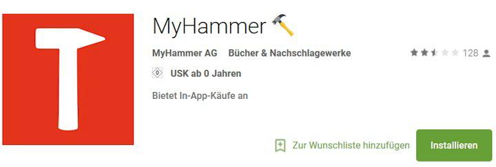 Www.My-Hammer.De Einloggen