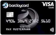 Barclaycard VISA - dauerhaft gebührenfrei, ohne Grundgebühr