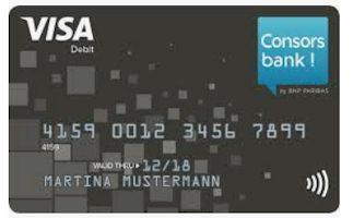 Consorsbank VISA - auch für Studenten dauerhaft gebührenfrei