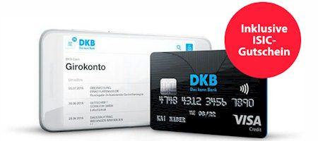 DKB VISA für Studenten - dauerhaft kostenlose VISACard