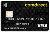 comdirect VISA - dauerhaft kostenlos