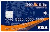 kostenlose ING DiBa VISA Card