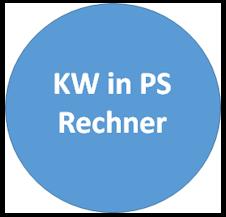 KW in PS Umrechnen - mit unserem kostenlosen online KW-PS-Rechner Kilowatt in Pferdestärken umrechnen