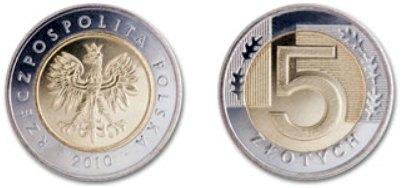 5 Zloty Münze