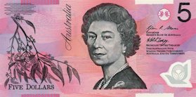 5 $ Banknote von Australien