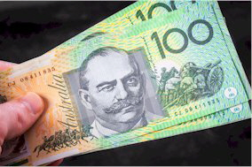 100 AUD Banknote