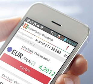 Die mBank mit innovativen mobilen Anwendungen. Quelle: www.mbank.pl